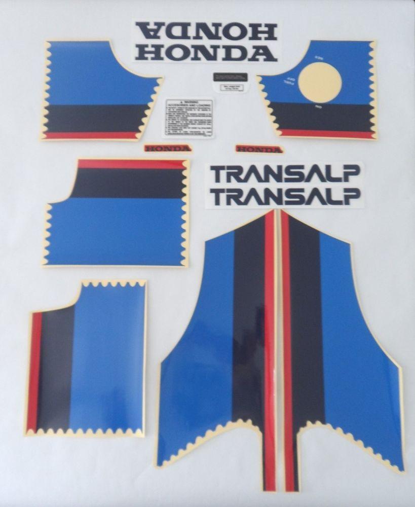 Details About Honda Transalp 600 Xlv 600 Xl600v 1989 Kit
