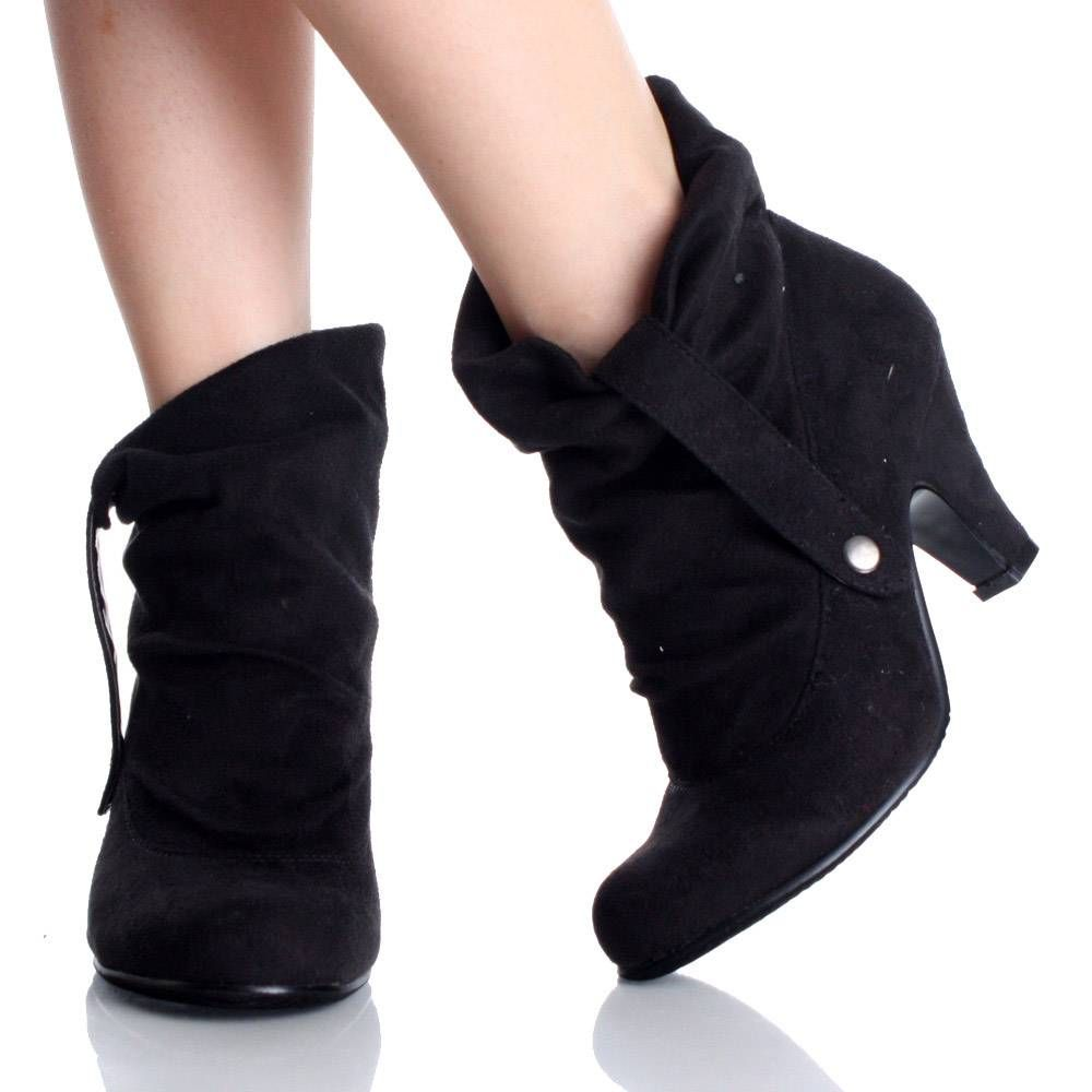 Slouch Ankle Boots - Yu Boots