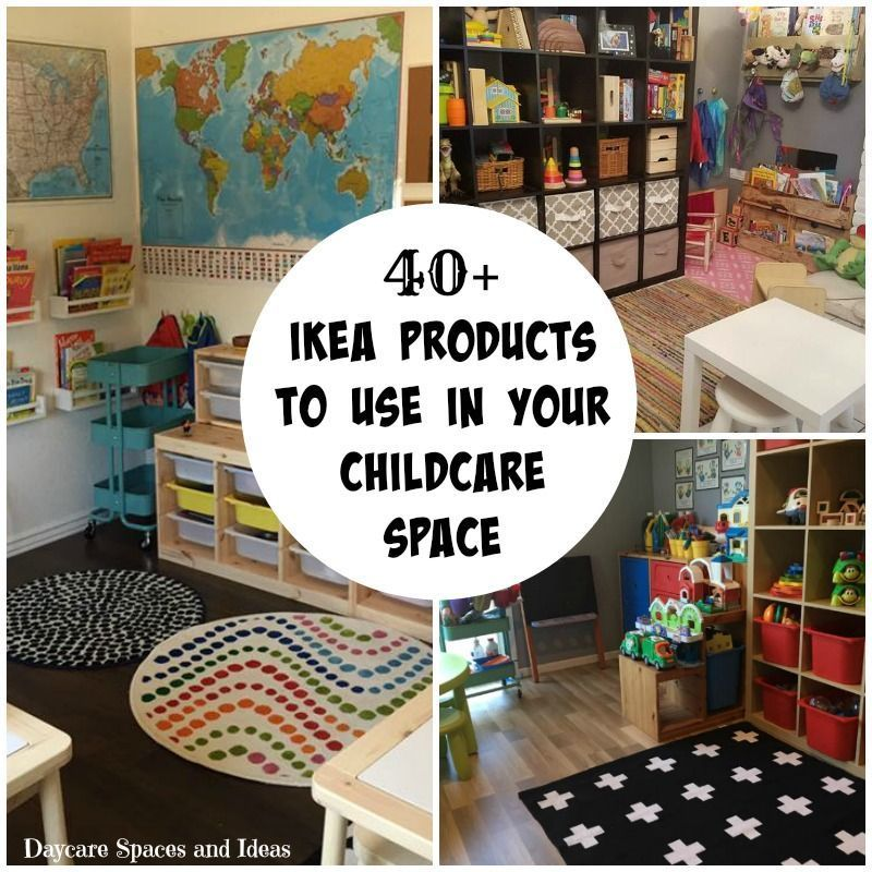 Home Daycare Design Ideas: Ikea For Daycare #runningadaycare