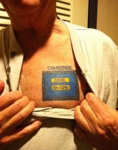 Dnr Tattoo Read The Blog Article Too  Advance Directives Keeping