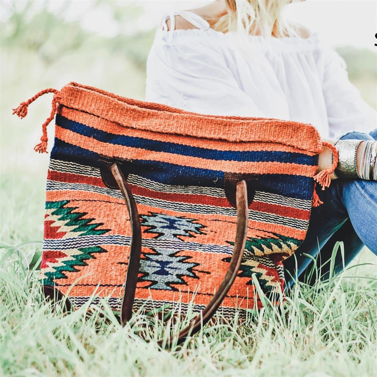 Tribal Tote Bag Bags, Tote bag, Carryall tote