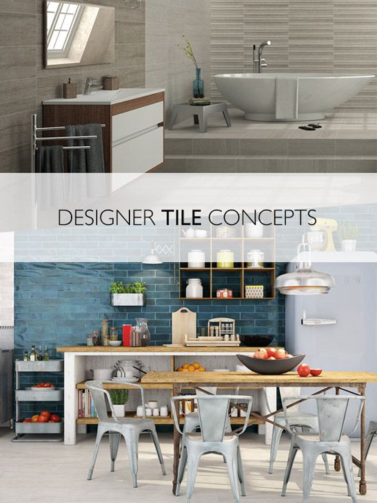 Designer Bathroom Tiles - Free Catalogue! | Tile design ...