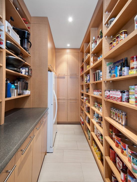 kitchen shelving ideas inspirational plan for natural | walk in pantry with an additional fridge or freezer would ...