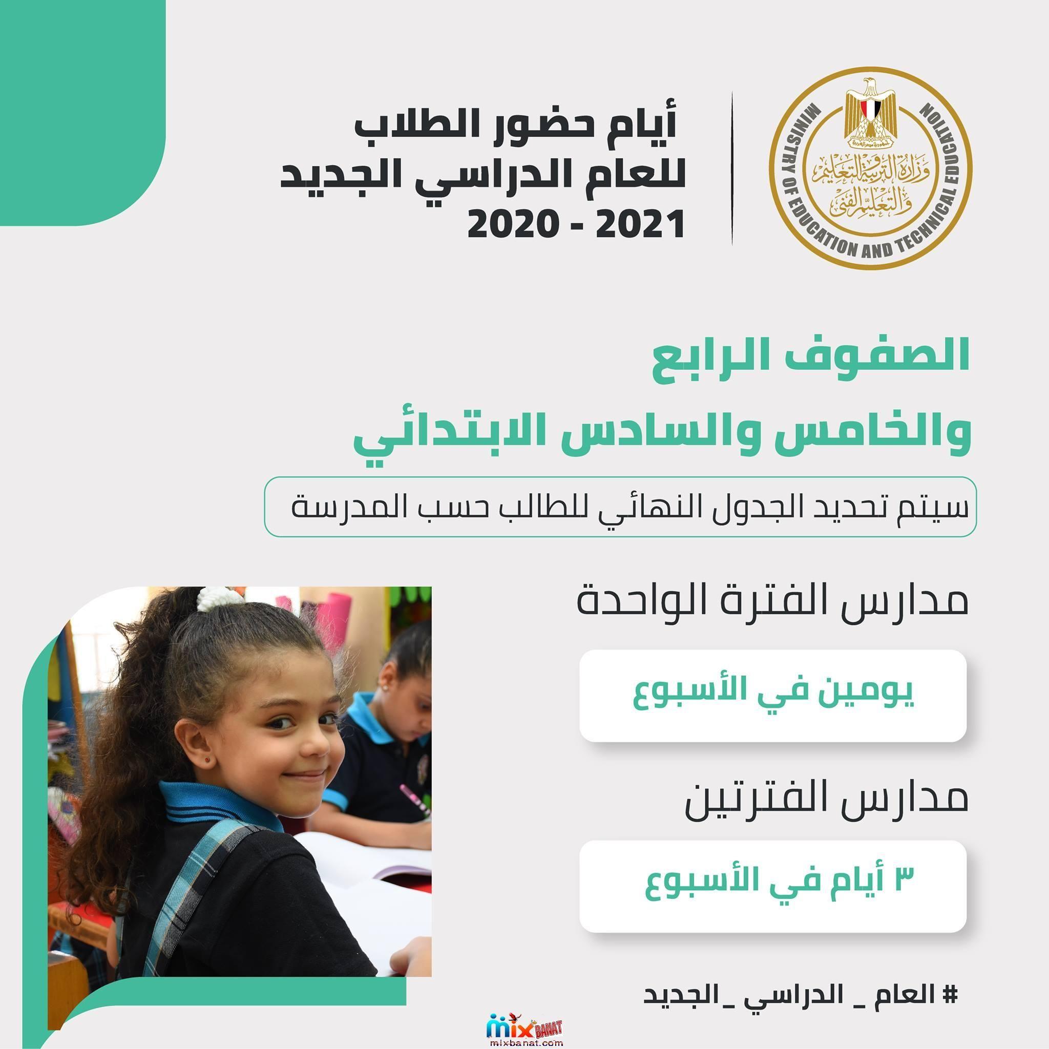 تفاصيل خطة العام الدراسي الجديد 2020 2021 بحسب اعلان وزير التربية والتعليم المصري Education Technical Incoming Call