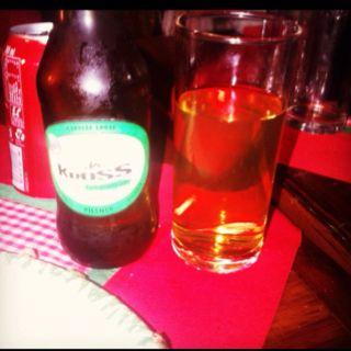 Kroos. Cerveceria independiente Chilena! Recomendada... Tipo Pilsen.
