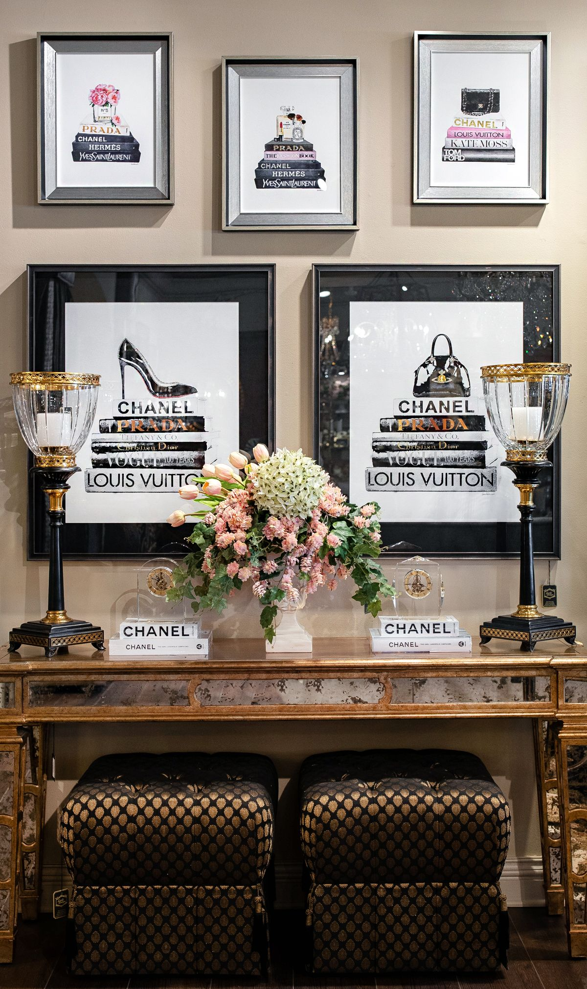 Luxury Fashion Artwork Decor Luxury Home Decor Home Decor