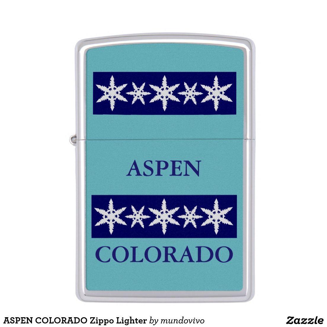 Aspen Colorado Zippo Lighter Zazzle Com