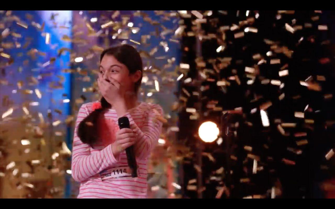 Americas Got Talent 2018 Golden Buzzer Shy Girl