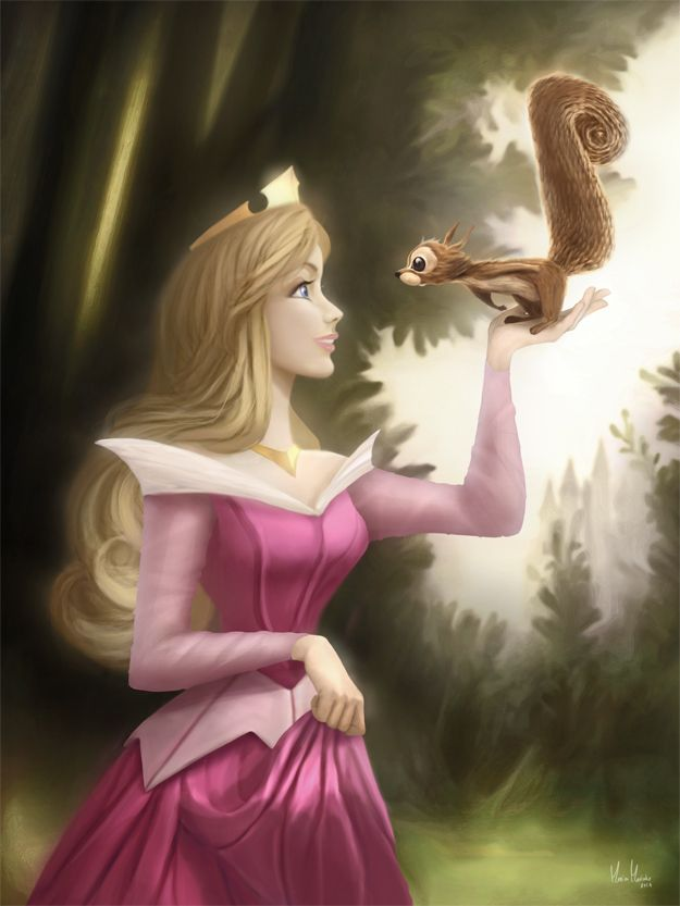 Princess Aurora - Coloring Page by MonicaMarinho on deviantART