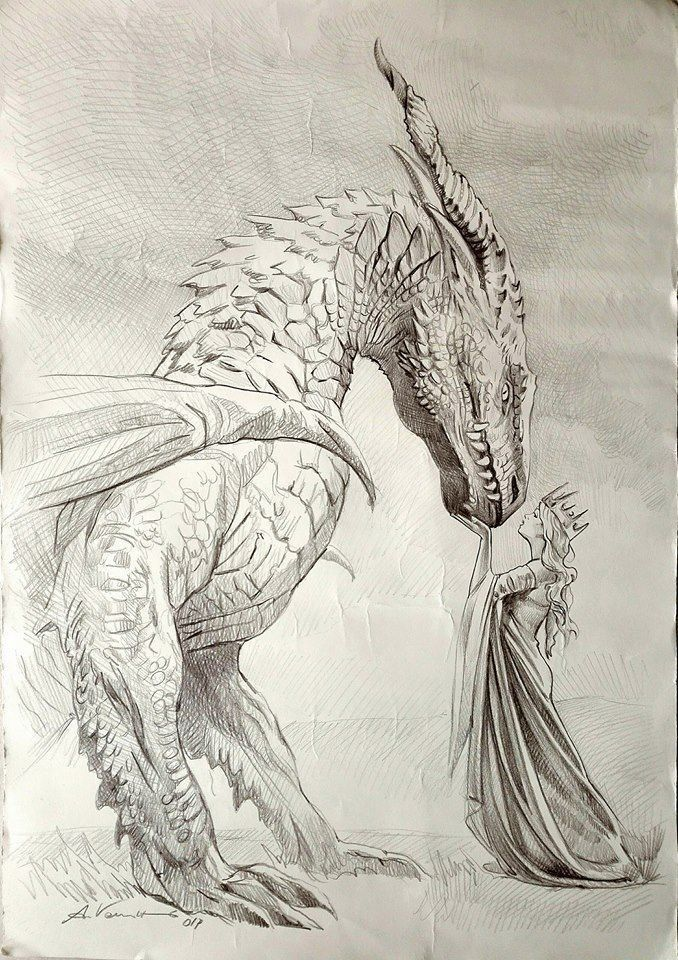 Photo of Seas of Crimson Silk inspiration, dragon and queen by Emma Hamm