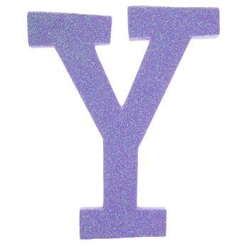 Glitter Foam Letter Y Foam Letters Lettering Foam Crafts