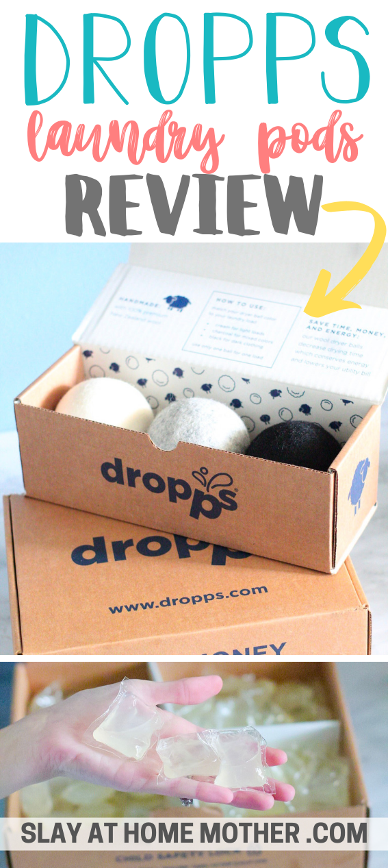 Dropps Non Toxic Laundry Detergent Wool Dryer Balls Review