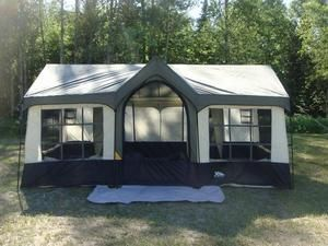 Northwest Territory Olympic Cottage Deluxe Cabin Tent & Northwest Territory Olympic Cottage Deluxe Cabin Tent | Outdoors ...