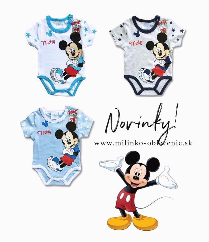 23b7b3ace Detské body - Mickey Mouse #mickeymouse #disney #oblecenieprebabatka ...