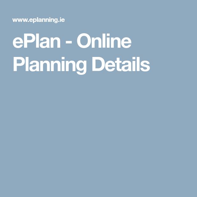 ePlan - Online Planning Details | martin