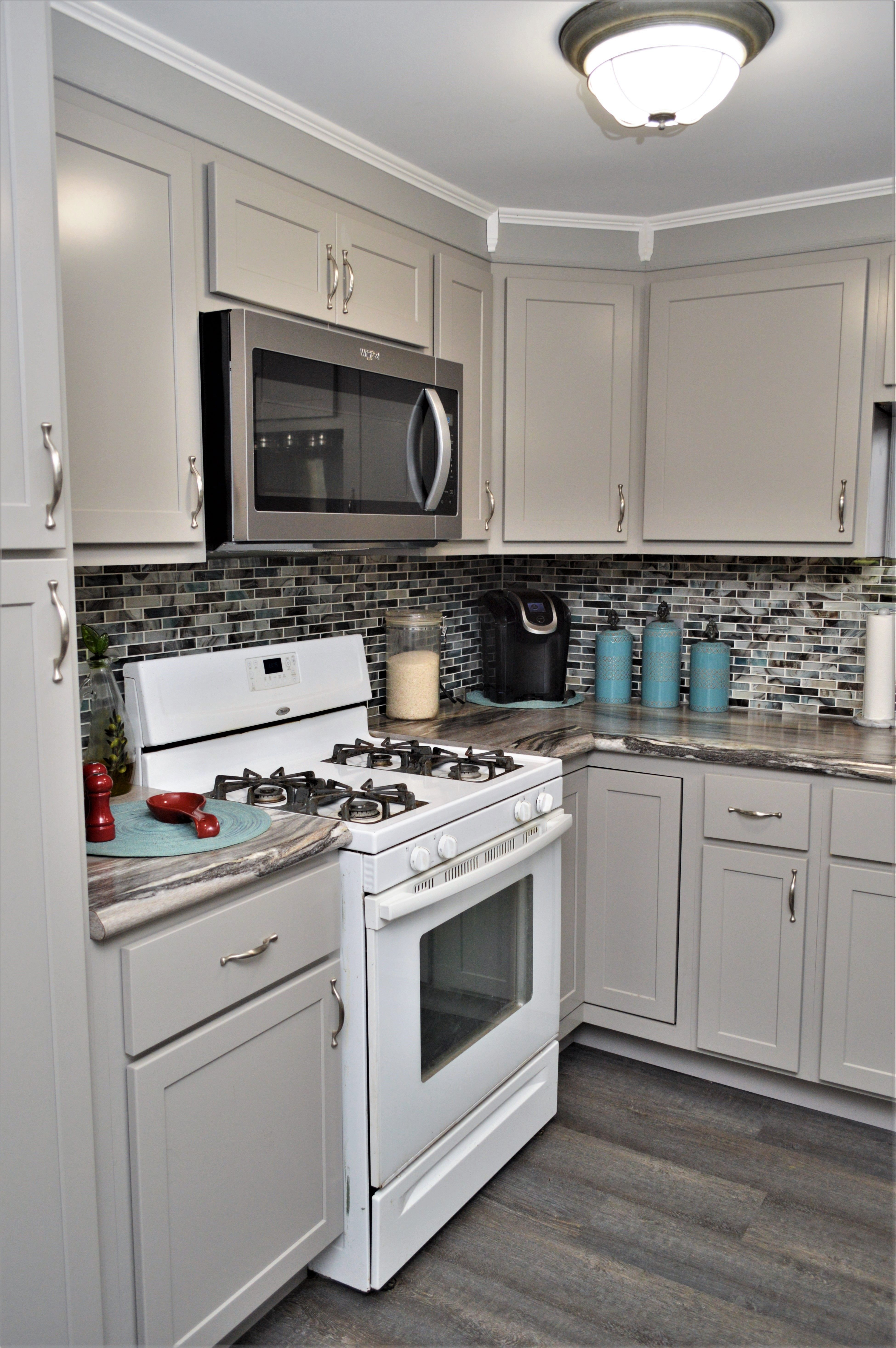 Baileytown Select Maple Limestone Finish Georgetown Door Style Maple Cabinets Cabinetry Kitchen