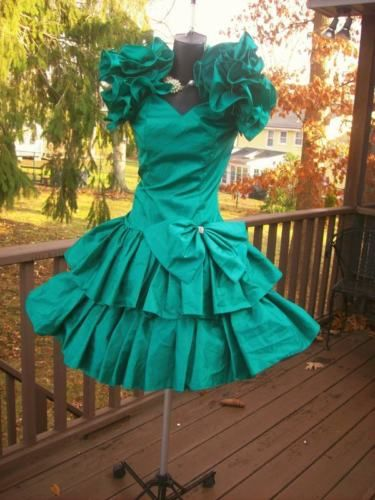 VINTAGE 80s WILD CHILD PROM PARTY DRESS BEST IN SHOW S in Clothing, Shoes & Accessories, Vintage, Women's Vintage Clothing, 1977-89 (Punk, New Wave, 80s), Dresses | eBay