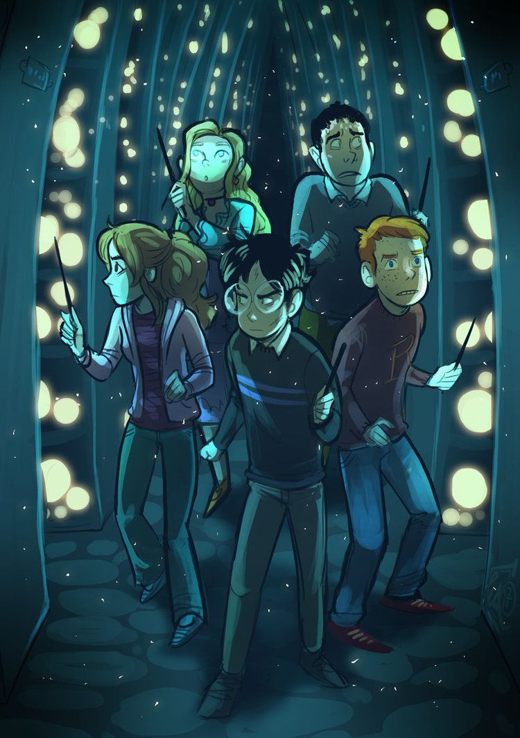 Harry Potter And The Order Of The Phoenix By Behindtheveil