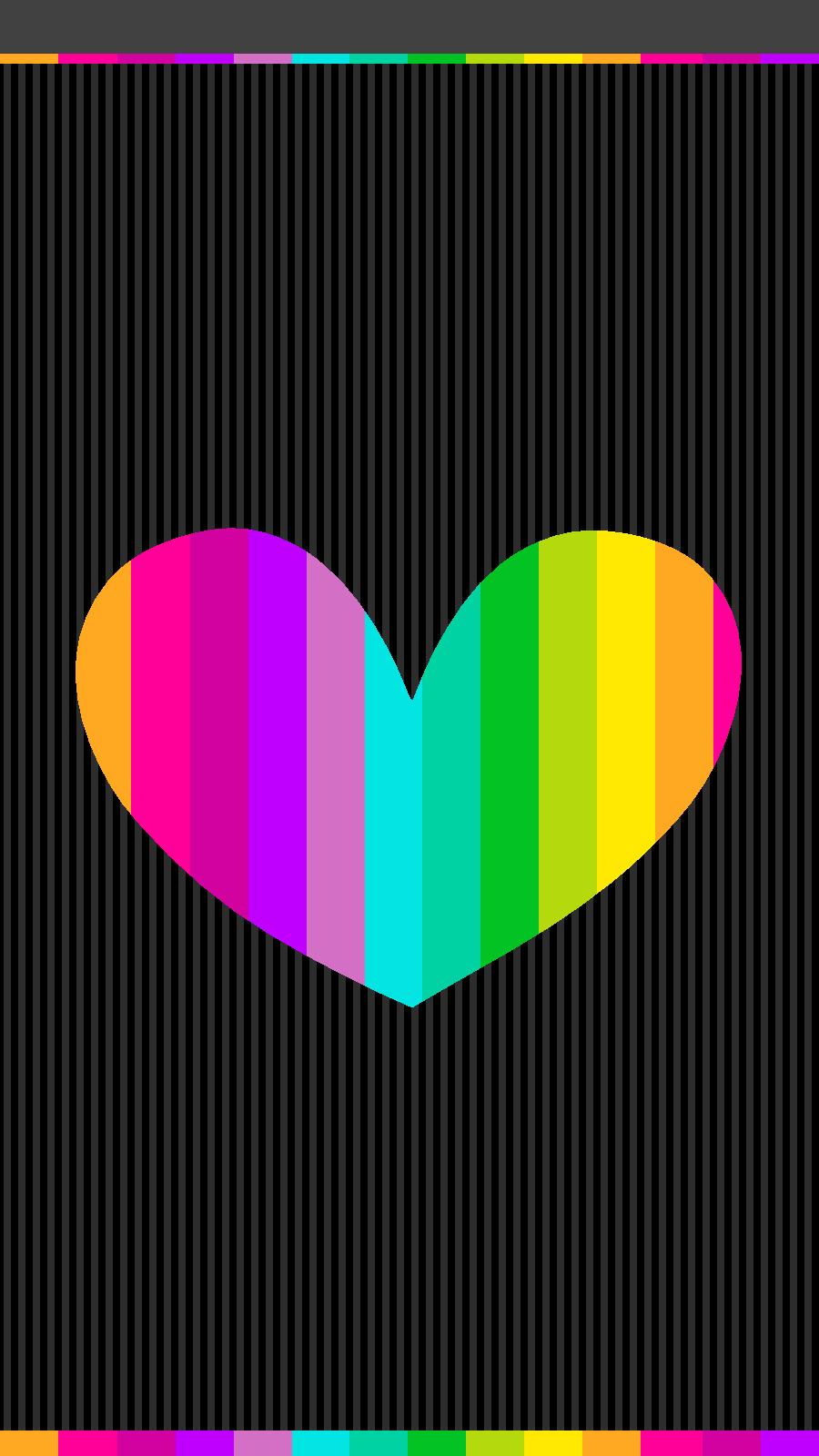 Http Luvnote2 Blogspot Com 2015 07 Rainbow Colors Wallpapers Html M 0 Heart Wallpaper Colorful Wallpaper Rainbow Wallpaper