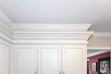 New Triple Stack Crown Molding Ccff Kitchens Kitchen