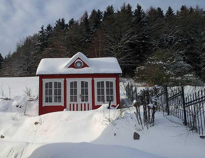 ClockhouseDesign Gartenhäuser im englischen Stil