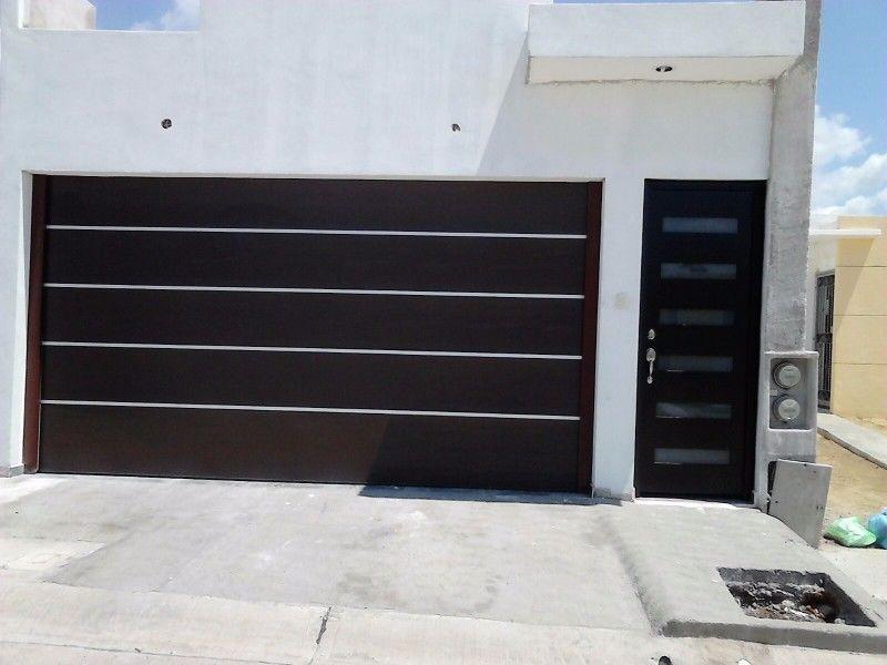Porton herreria minimalista buscar con google portones - Puertas para cocheras ...