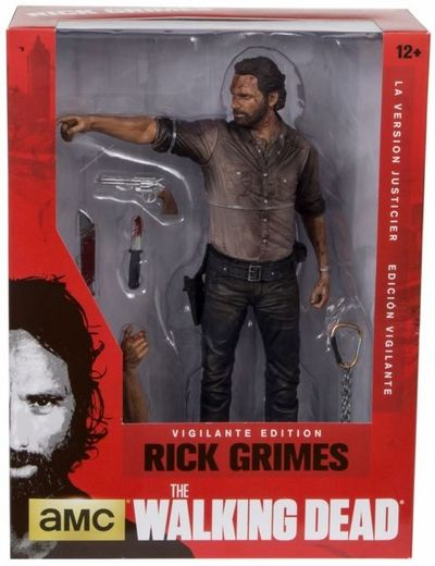 "McFarlane Toys The Walking Dead TV 10/"" Rick Grimes Deluxe Figure"