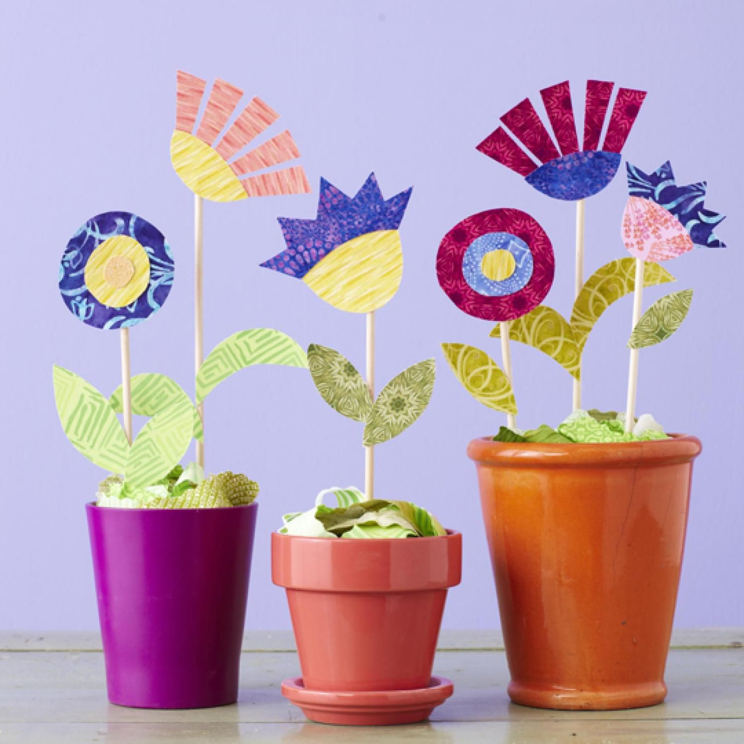 Grow A Garden Of Fabric Flowers Without Any Sewing Simply Fuse Two