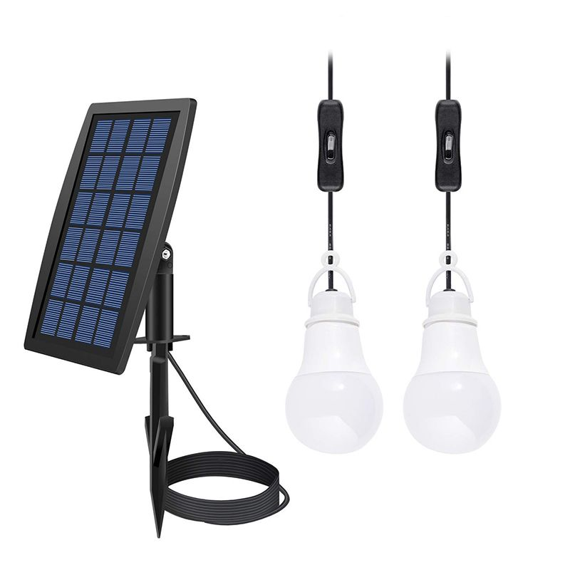 Solar Power Led Bulb Lamp High Efficiency Solar Panel Solar Shed Lights Powered By Sunlight N Solar Shed Light Indoor Solar Lights Solar Light Bulb