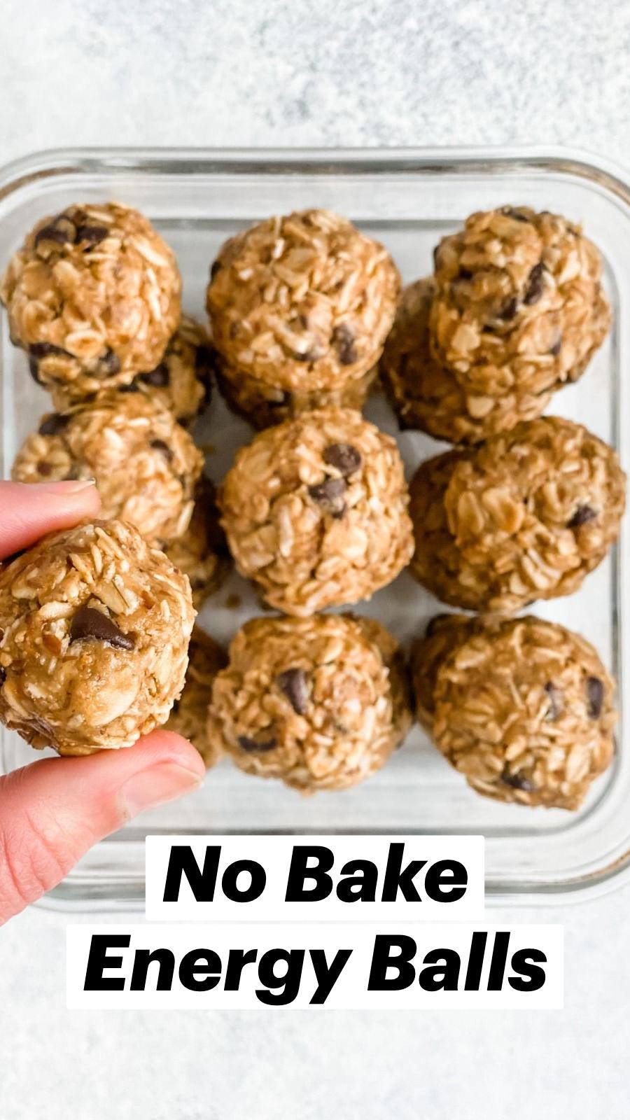 No Bake Energy Balls | Easy Healthy Snack