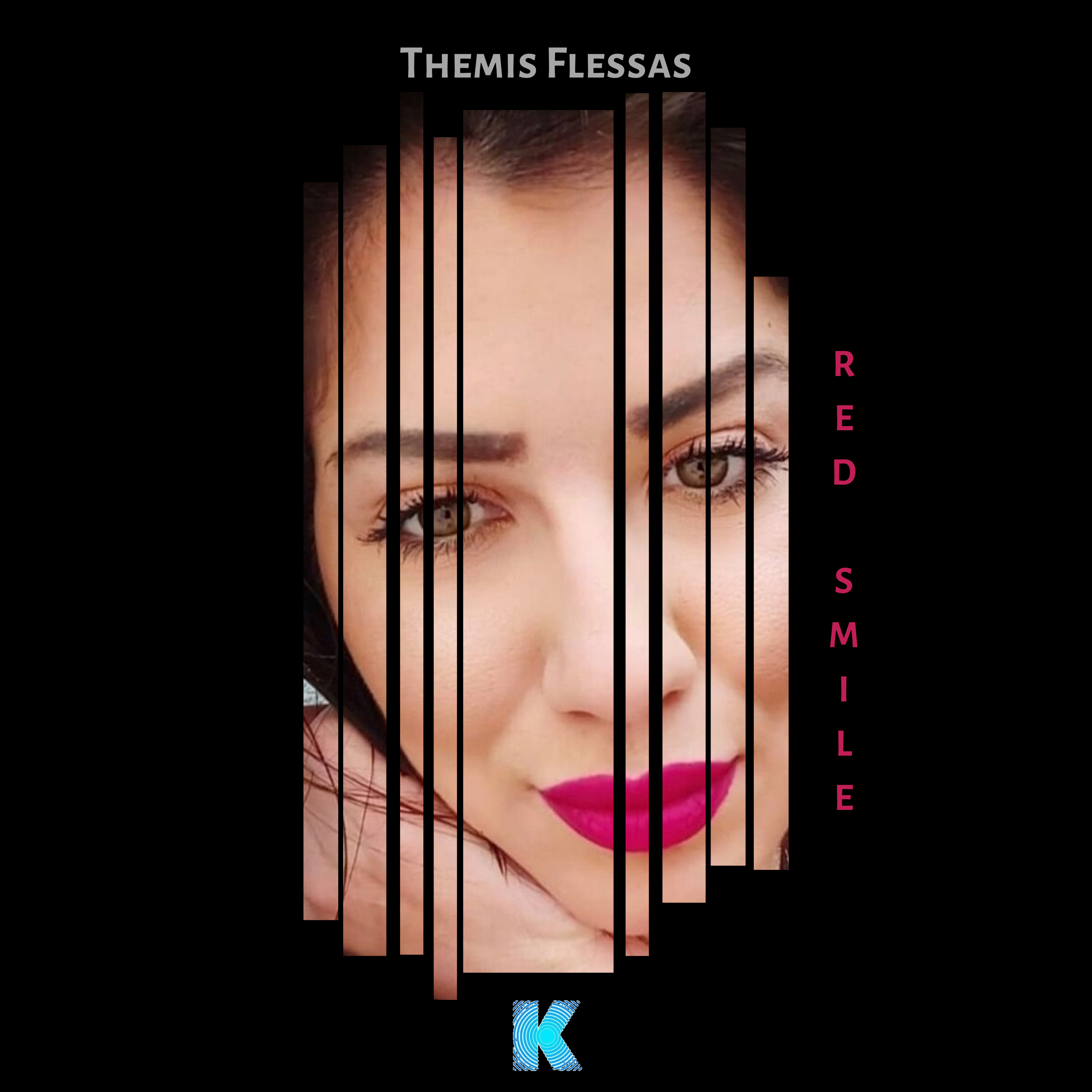 Themis Flessas announce new single 'Red Smile' end of year via Karia  Records., 2020