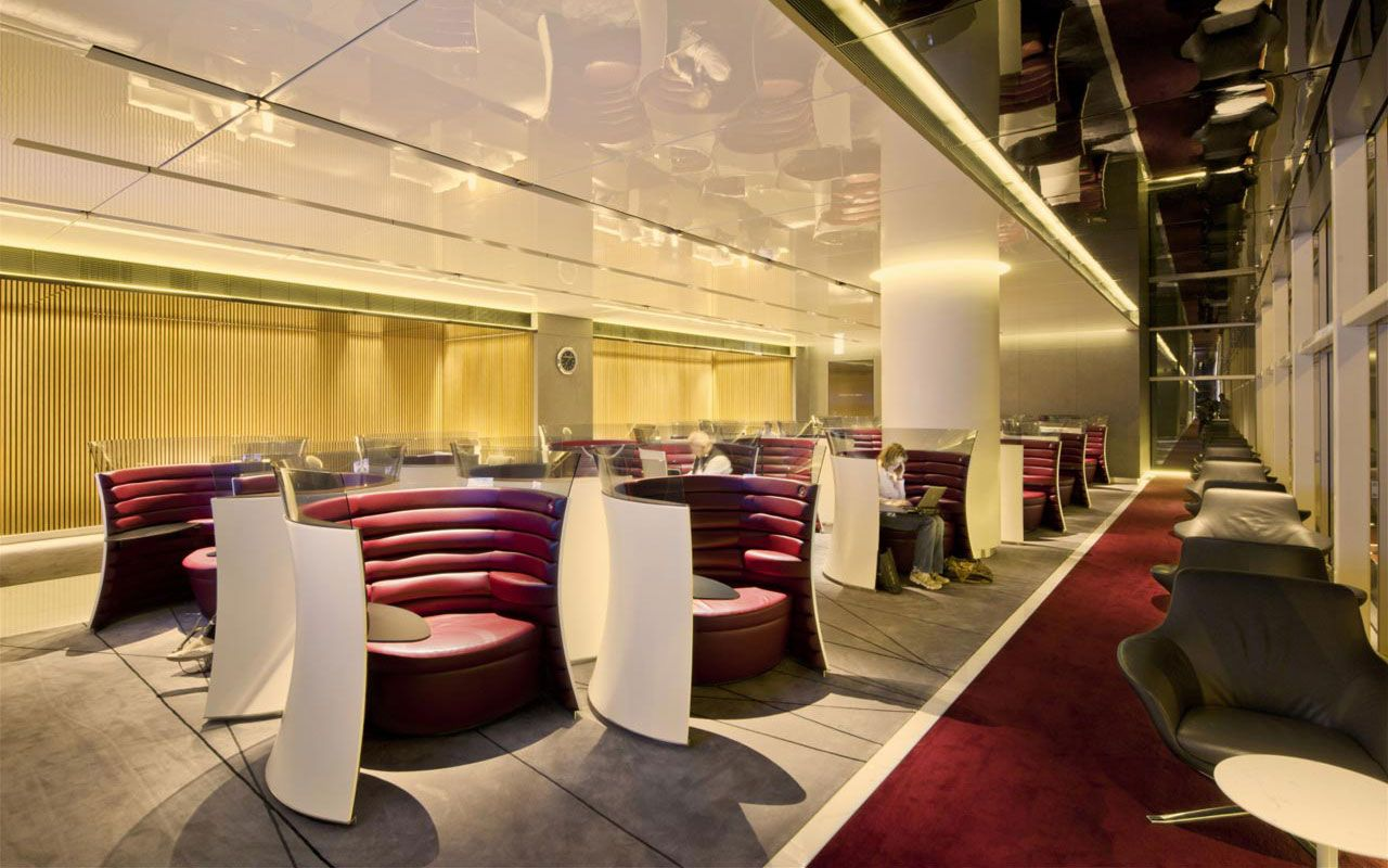 Cathay Pacific Lounges, Hong Kong International Airport | Gallery ...