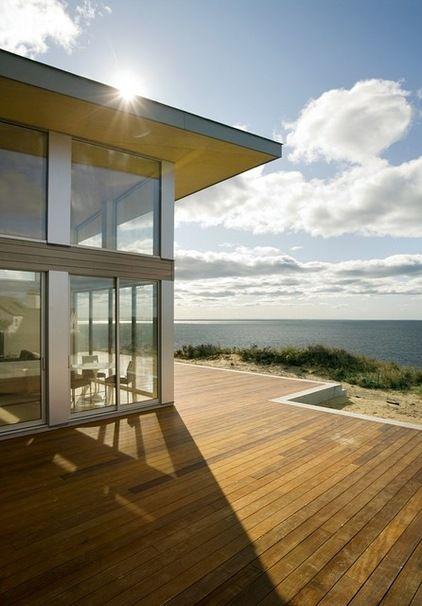 modern exterior by ZeroEnergy Design Garden, balkony Pinterest