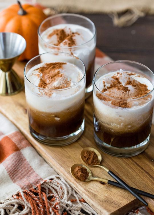 Pumpkin White Russians Really nice recipes. Every hour.