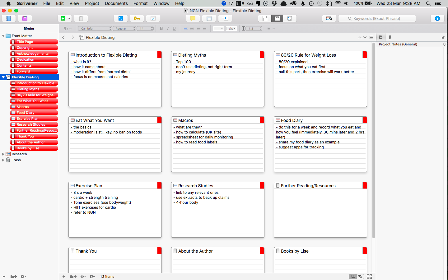 Using Scrivener to Outline Your NonFiction Book How to