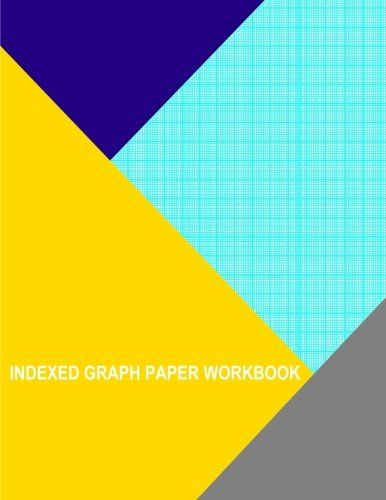indexed graph paper workbook 1mm line per millimeter by books