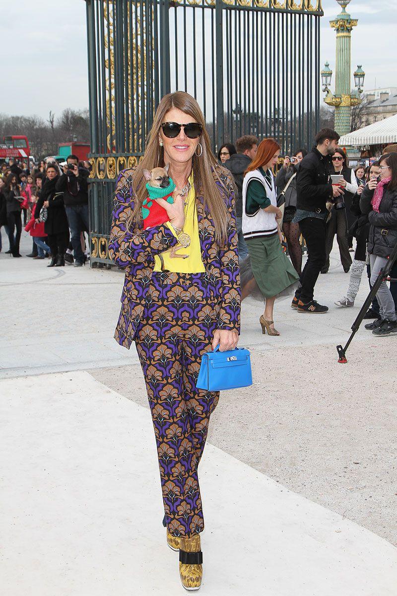 Tendencia primavera verano 2013 estilo masculino femenino gentleman - Anna Dello Russo