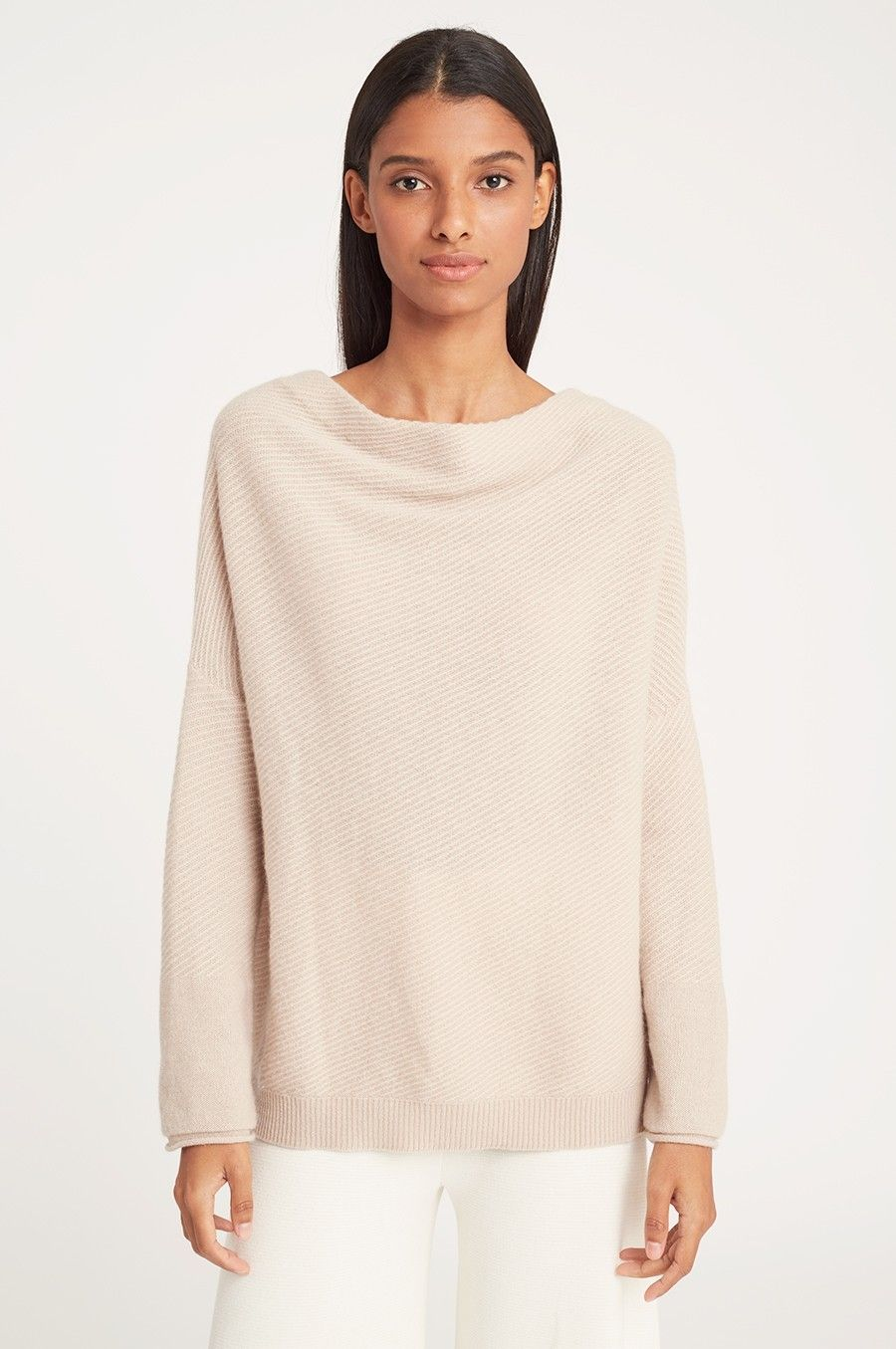 7dbc0e04190 Balance understated yet indulgent appeal with our Cashmere V-Back Sweater.  Rendered in 100