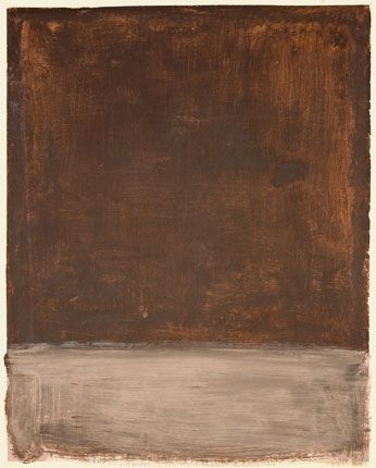 Mark Rothko Untitled (Brown and Gray) 1969