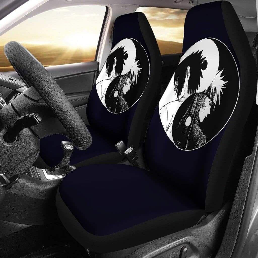 Naruto sasuke yin and yang car seat covers carseat cover