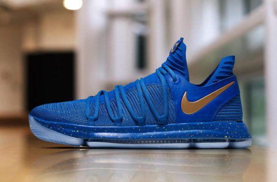 Take A Look At The Nike KD 10 That Kevin Durant Wore Last Night
