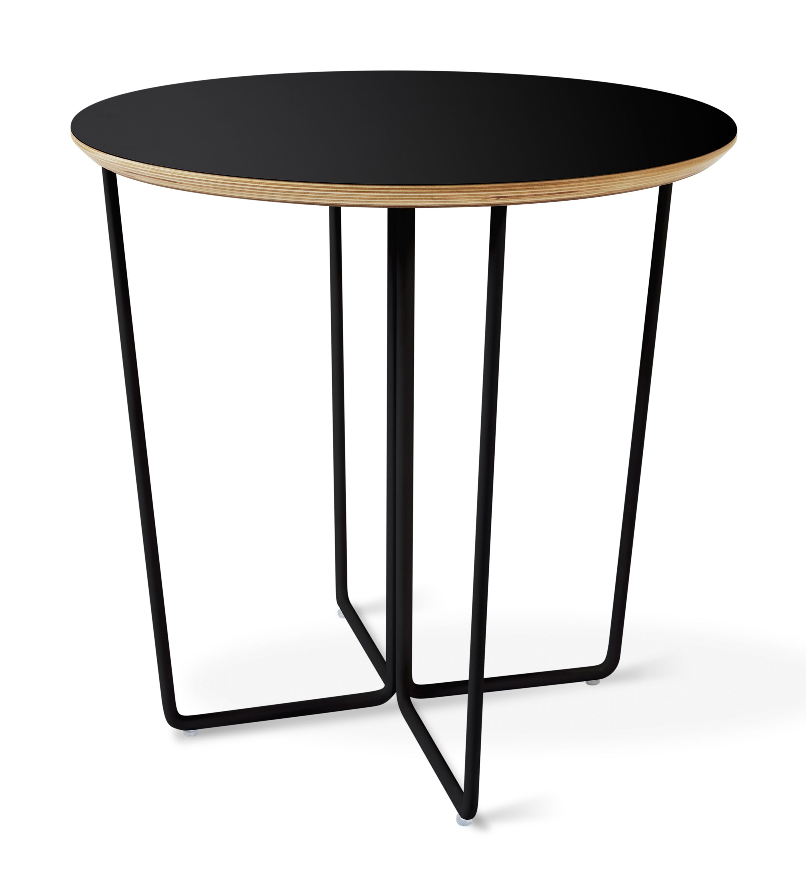 Array End Table Black The Array End Table Features An Elegant