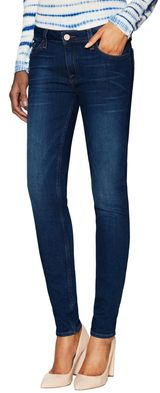 Rolled Skinny Cotton Jean