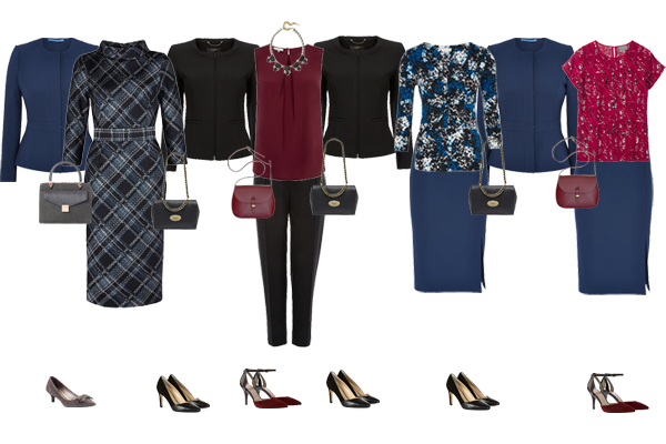 capsule wardrobe, business wear