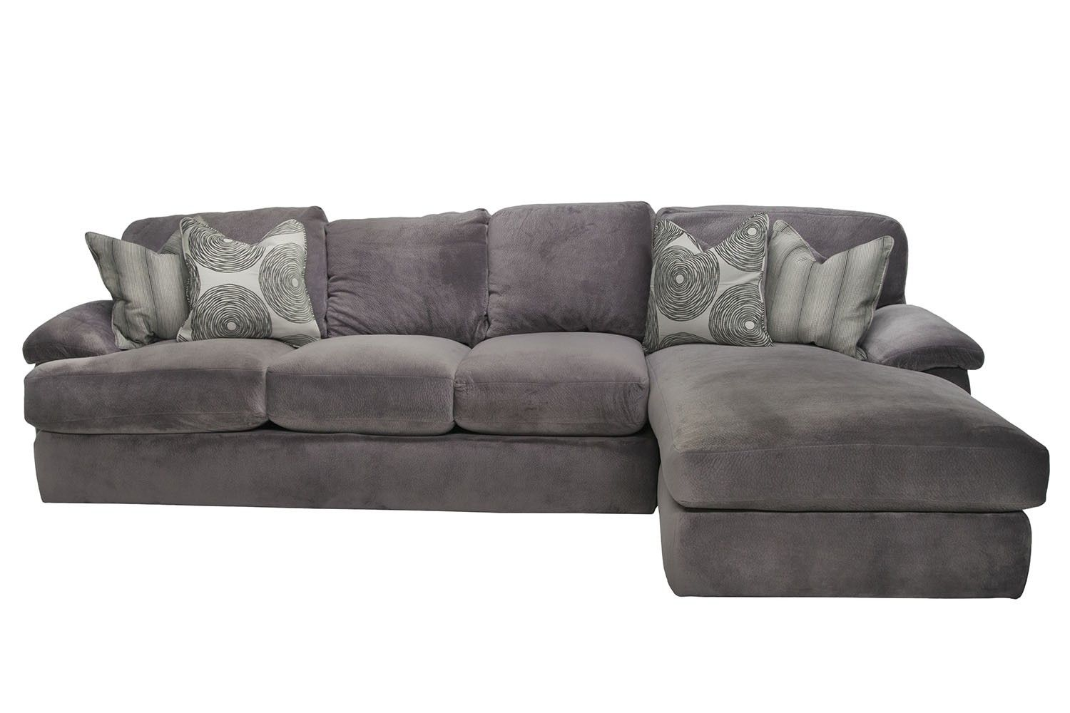 Mor Furniture For Less Key West Right Facing Sofa Sectional In Gray