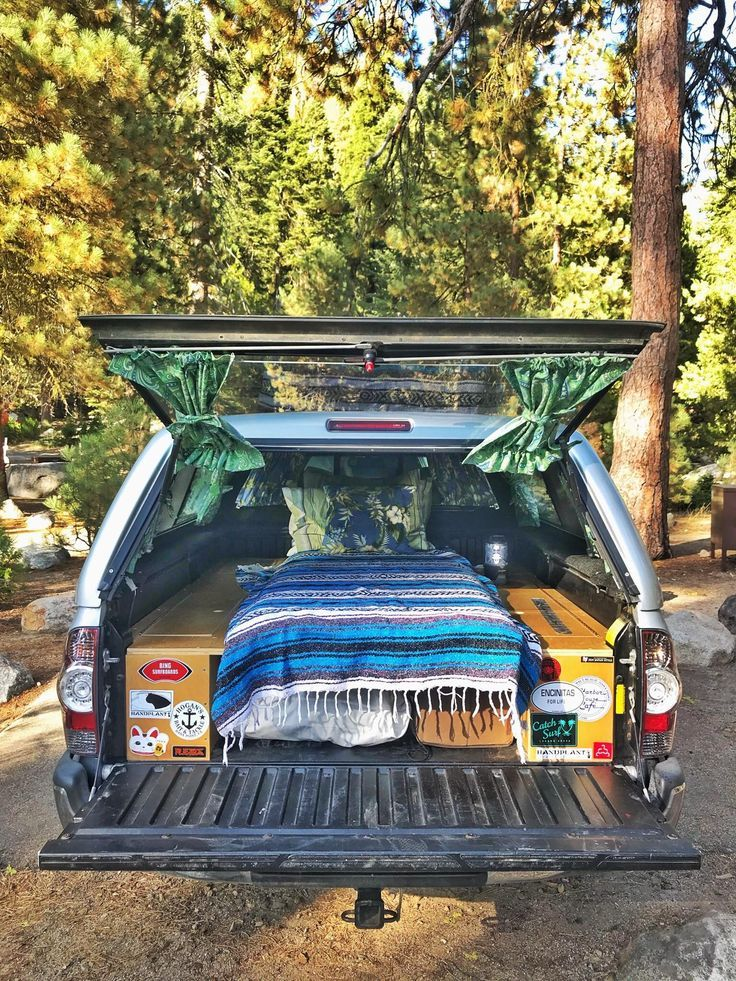 (notitle) Truck camping in 2020 (With images) Camper