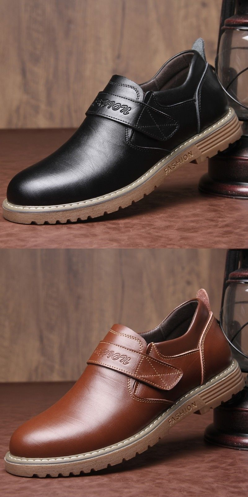 Prelesty Latest Mode Vintage Wedding Men Dress Monk Strap Shoes Formal Buckle Leather High Quality
