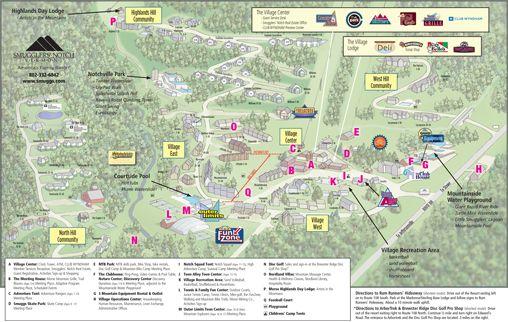 Smugglers' Notch, Vermont - Resort Map   SMUGGS   Village ... on three notch trail map, vermont ski resorts map, smuggs mountain map, smugglers notch state park map, smugglers' notch ski trail map, smugglers notch vt lodging, smugglers' notch resort trail map, smuggs trail map, long trail vermont map,