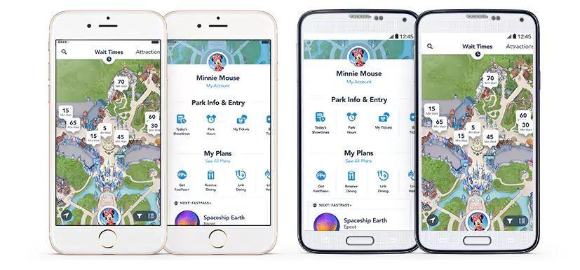 Theme park apps