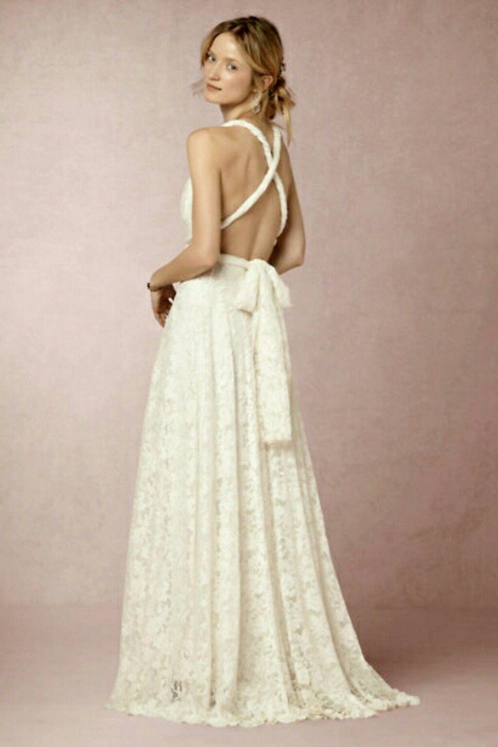 Long dresses for wedding reception  Noelle Dress by BHLDNCOM  Wedding inspiration  Pinterest  Beach